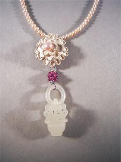 No.064 牡丹項鍊