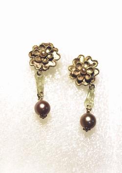 No.067 花卉耳環