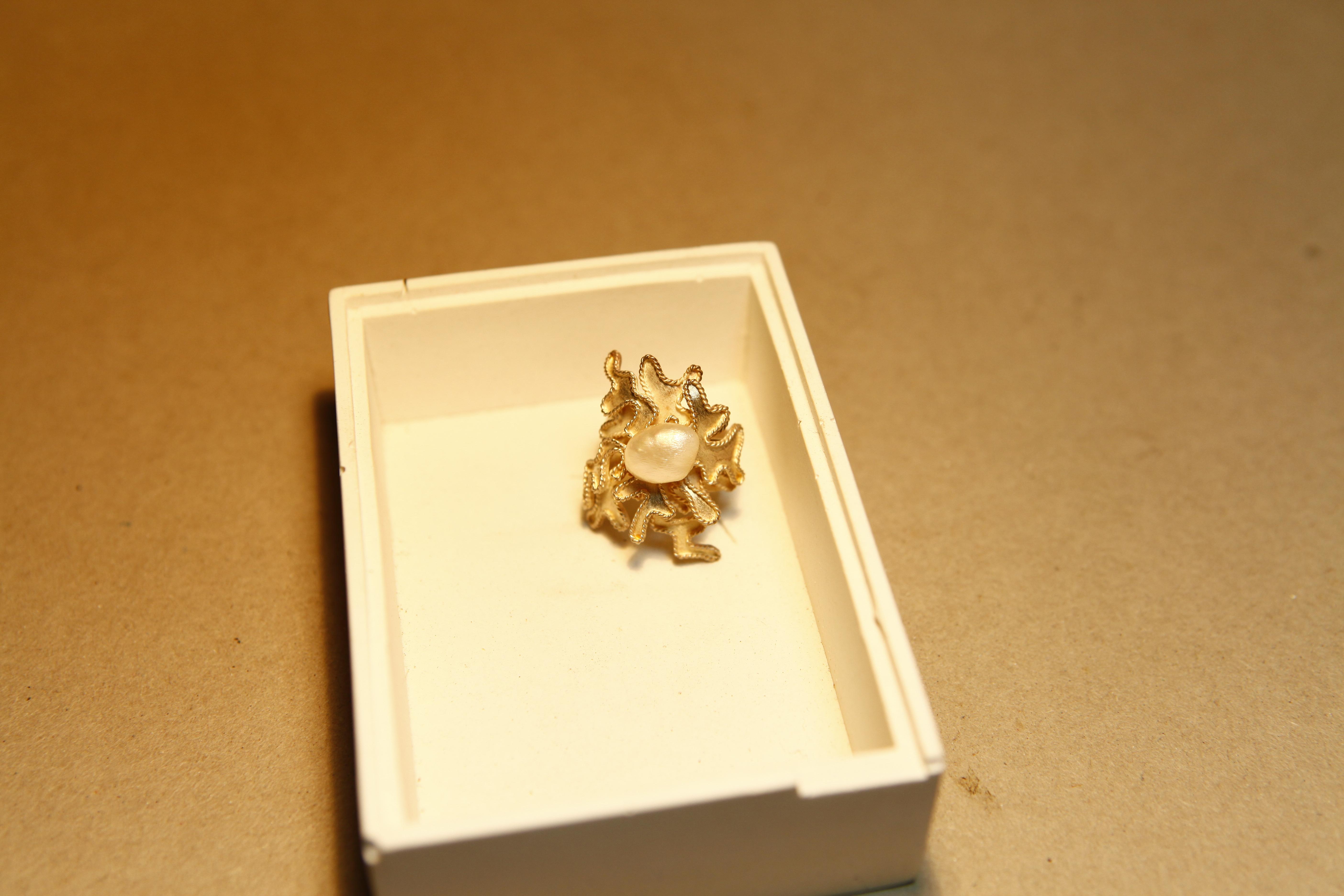 No.116 牡丹戒指