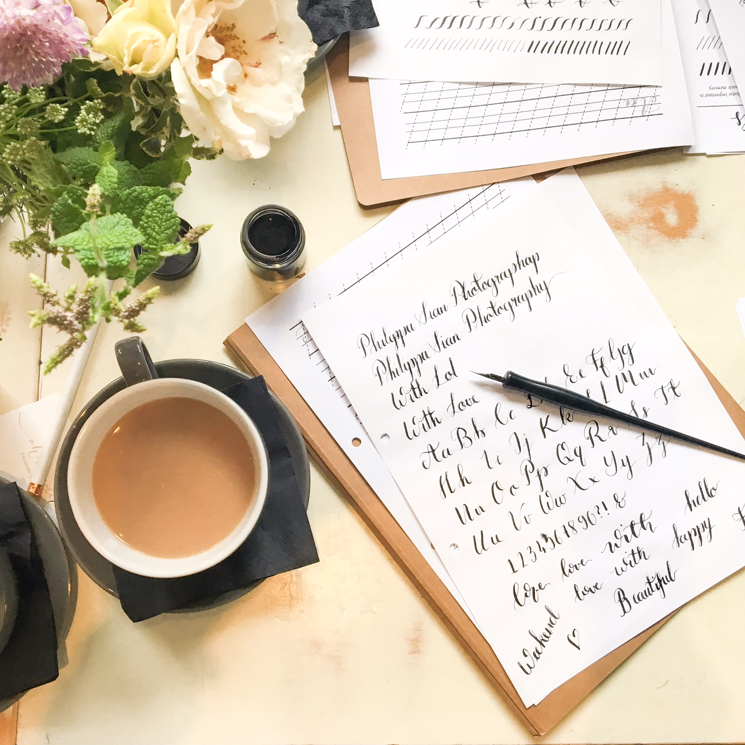 Want to Learn Calligraphy in London?