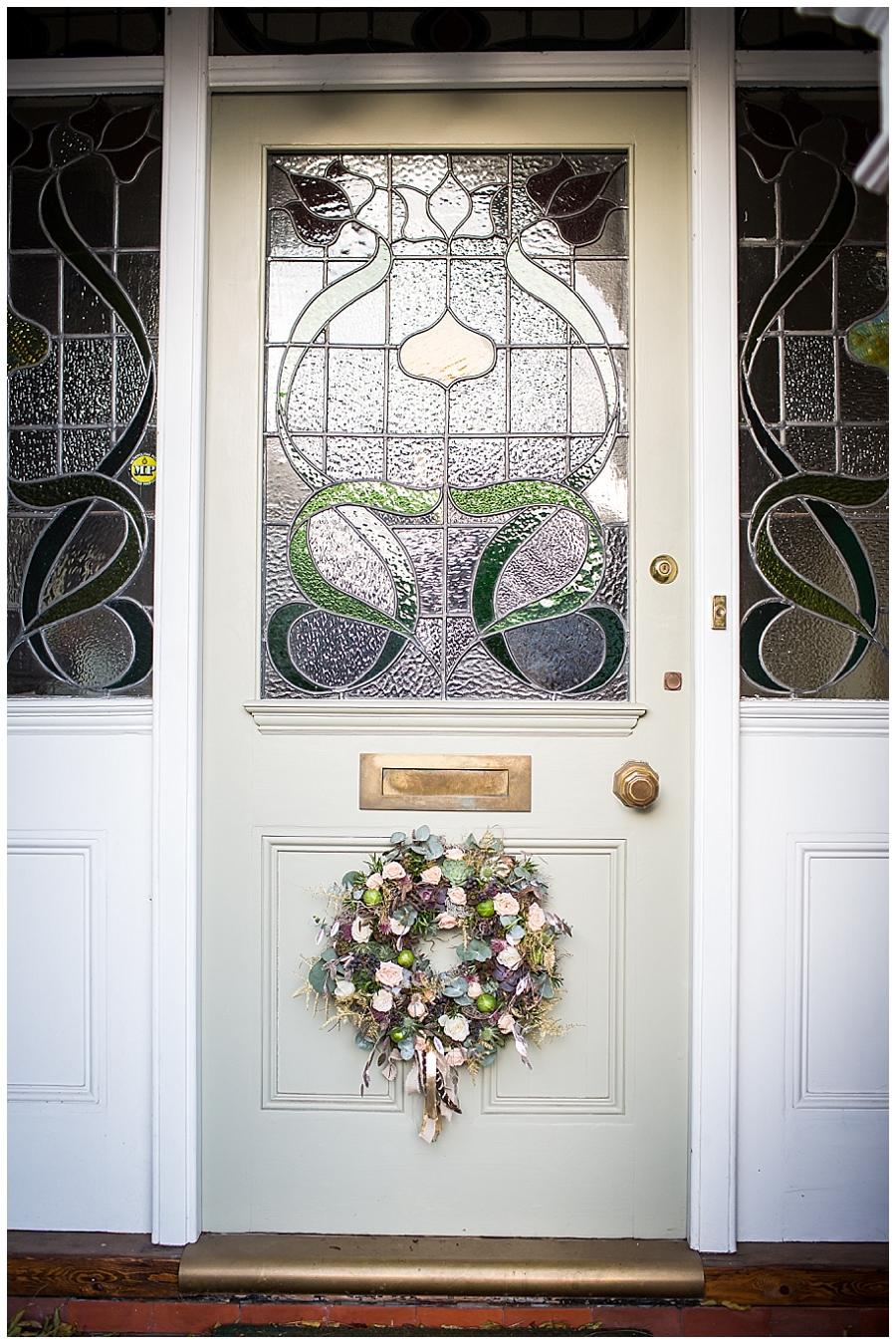Kate Avery Flowers Christmas Wreath Workshop at Millbridge Court