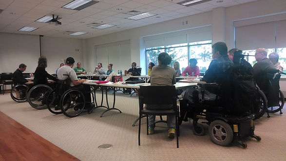 Spinal  Cord Injury Resource Group meeti