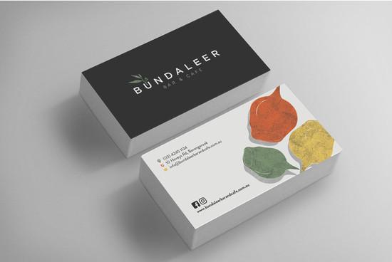 BUNDALEEER - Busines Card - Mock up 1.jp