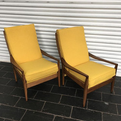 Two bold Cintique chairs away today in _