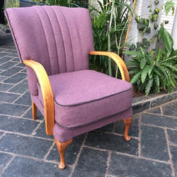 A little Bute fluted cocktail chair away today.jpg 2 chairs, 2 footstools and 1 day of teaching to g