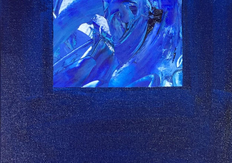 Piece in Blue #1