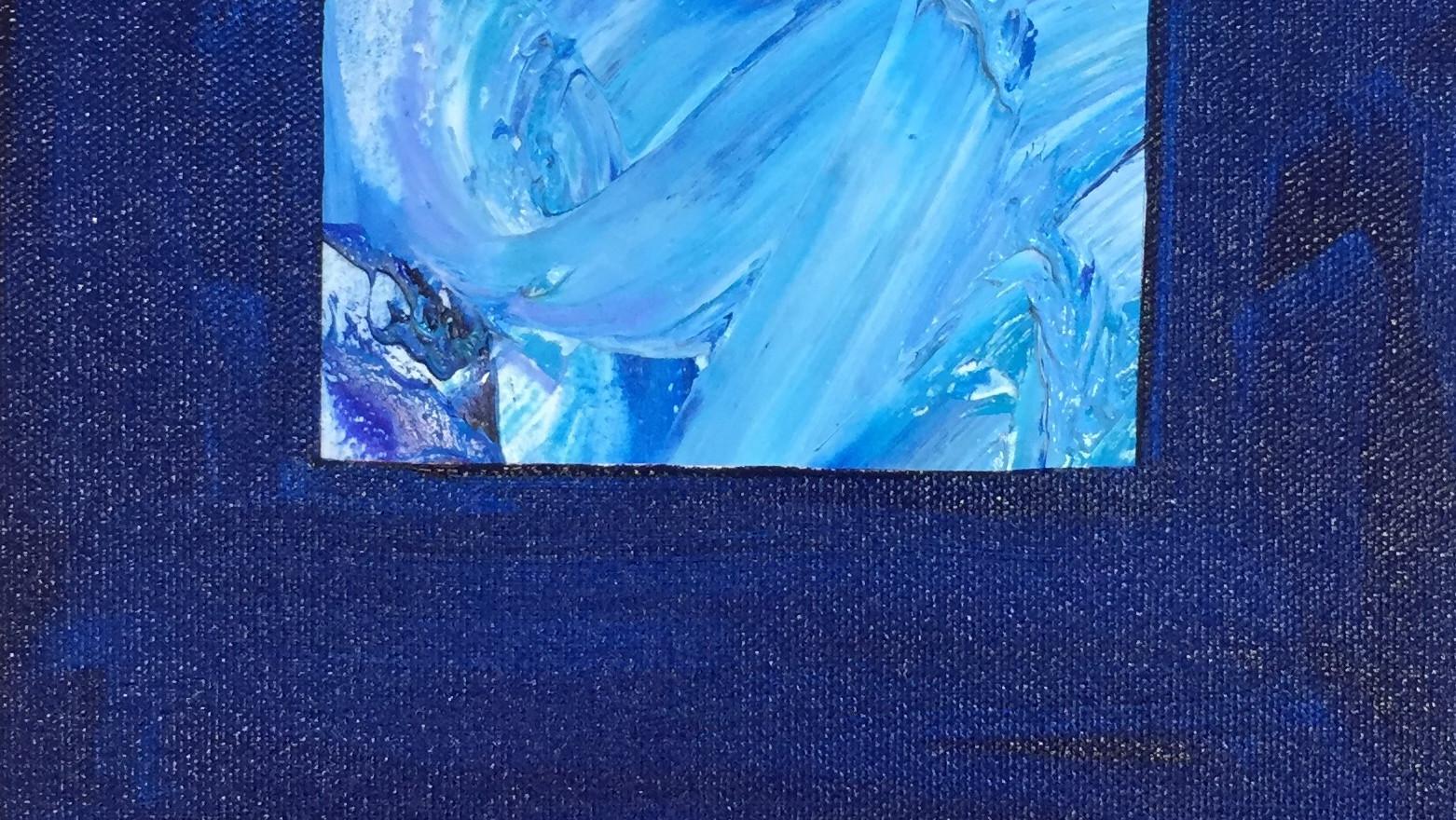 Piece in Blue #3