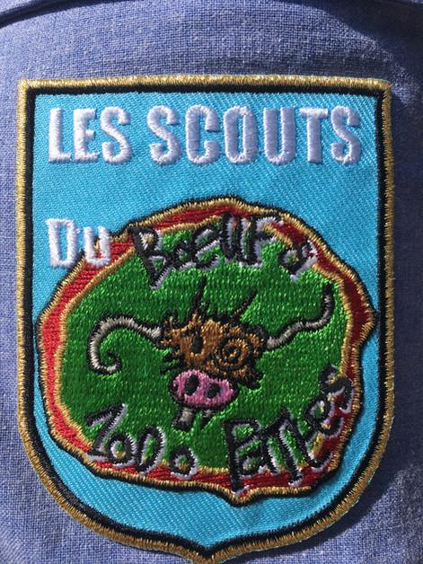 Ecusson des Scouts