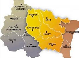 region alsace lorraine champagne ardenne