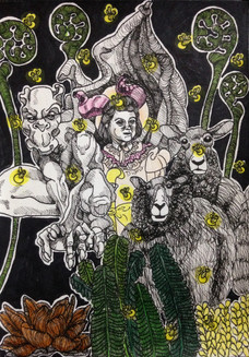 The Black Parade Group Dynamic (detail)