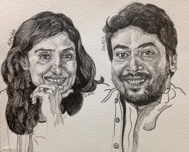 Ritvika and Sachin