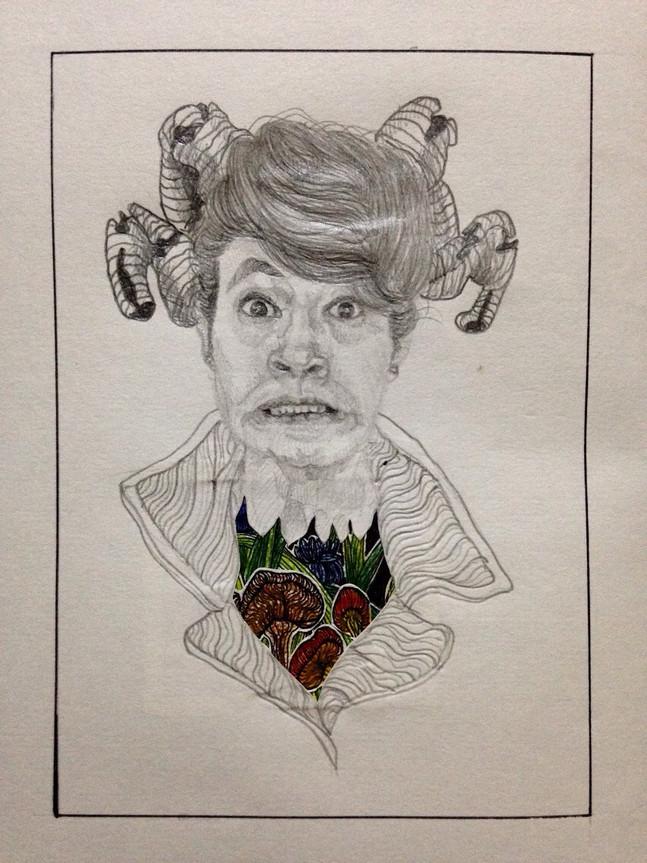 Portrait of a oopsie.