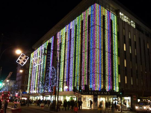Thou shalt leave their shopping till thelast minute and do it all at Debenhams