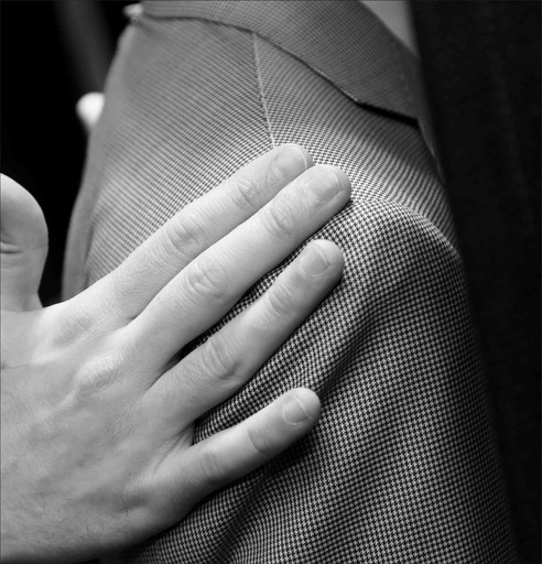 Thou shalt get the best suit possible - made to measure by Canali at Flannels