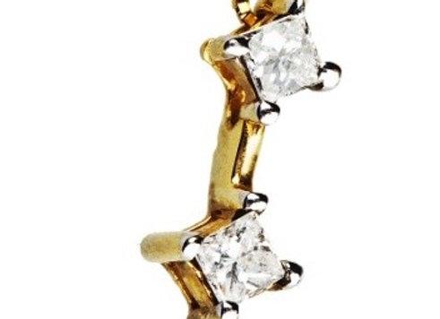 Naszyjnik z diamentami