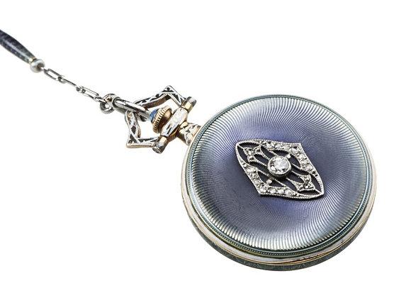 Zegarek biżuteryjny Longines z diamentami