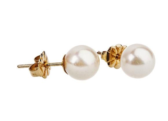 Kolczyki z naturalnymi perłami AKOYA
