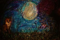 Foxy Moon Scene