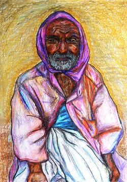 Old Man in Varanasi