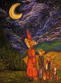 The Moon and Felicity Fox