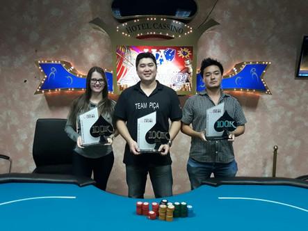 Ganhadores do torneio 100k.