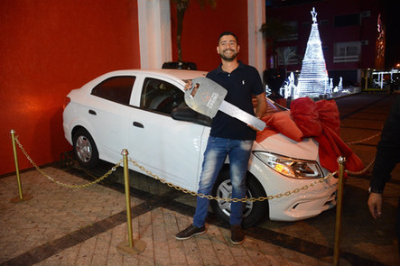 Sorteio do Carro 0km Chevrolet Prisma