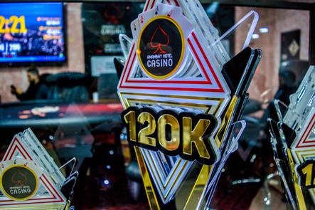 TORNEIO TEXAS HOLD'EM R$ 120.000.00
