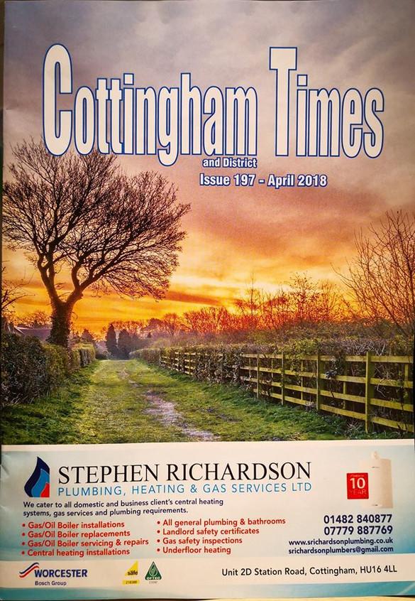 Cott Time April 18 cover
