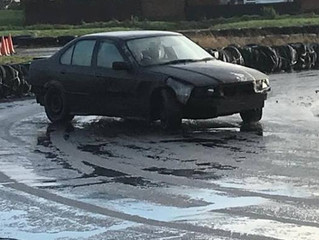Slip Sliding - Skid Pan Day!