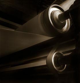 Medium format film shot. Paper reel roll