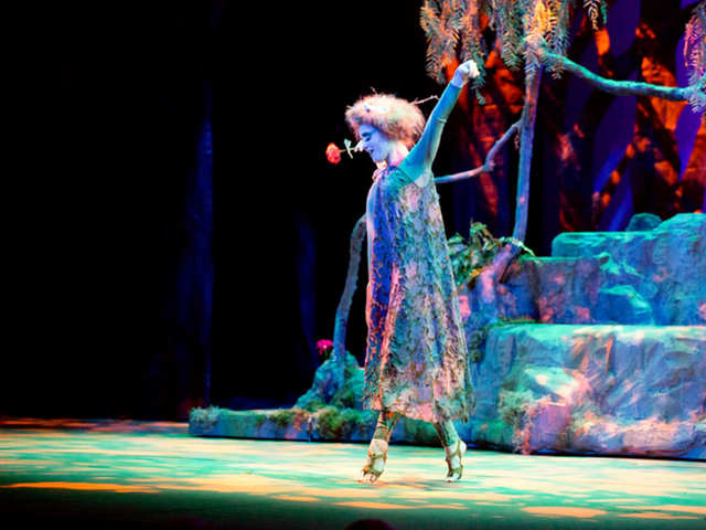The Fairy in A Midsummer Night's Dream