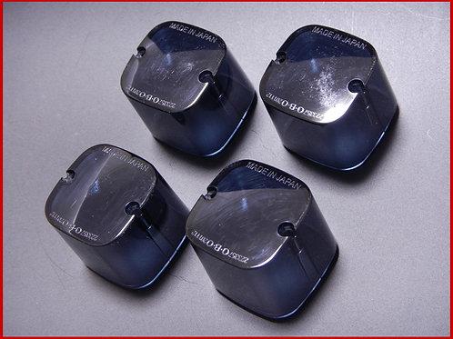 角型ウインカー用 レンズ ブラックスモーク(4個SET)