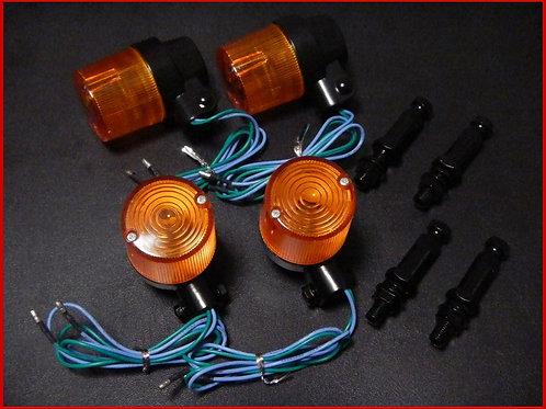 ヨーロピアンウインカー オレンジ/ブラック 4個SET