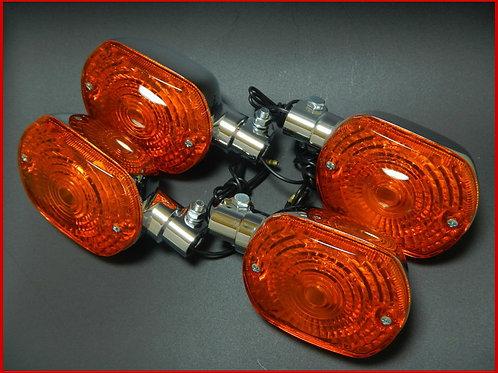 Z400FX Z750FX ウインカー オレンジ(1台分)