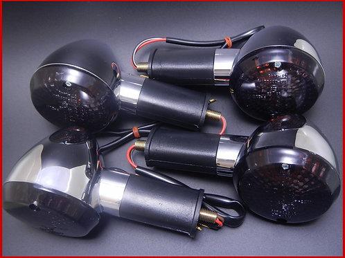 ゼファー400/ゼファー750 ウインカー スモーク(1台分)