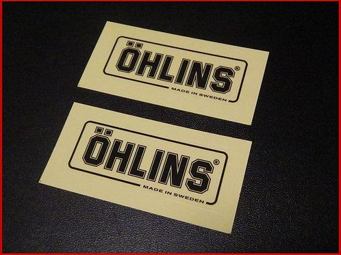 オーリンズ OHLINS ステッカー リアサス用