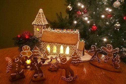 Gingerbread huis of kerk
