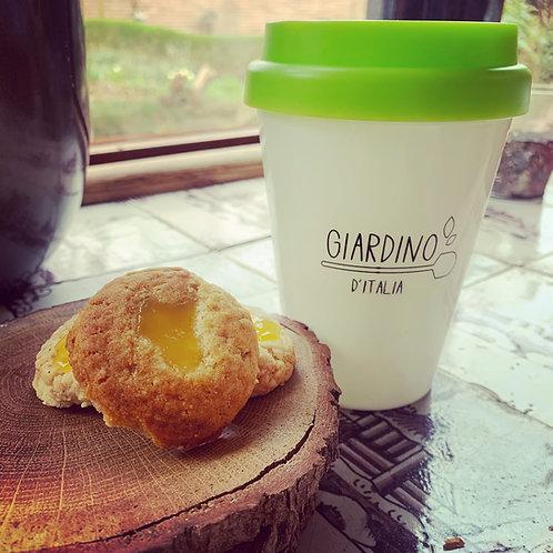 Herbruikbare Giardino koffie thermosbeker