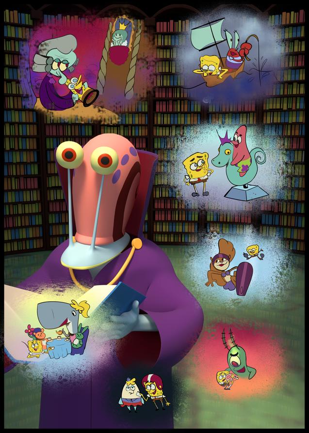 """Spongebob Zinepants - """"Sleepy Time"""""""