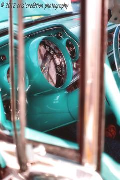 classic car, auto d'epoca, turquoise, florida, car show