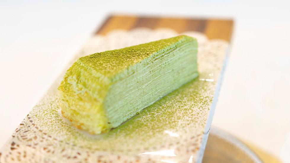 Matcha Mille Crêpes - Single Slice