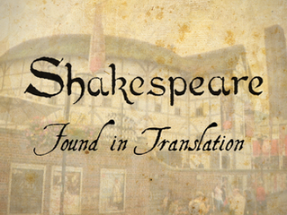 Shakepeare: Found in Translation - Promo