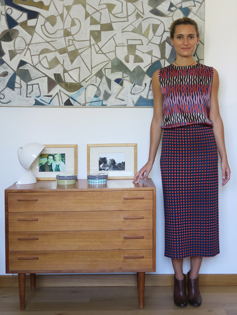 16_MONIKA_VARGA_Top_Skirt_Silk_Geometric_Blouse_Shirt_Art_Prints_Pattern_Model.jpg