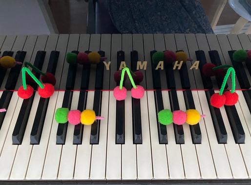 3,4歳児のピアノレッスン