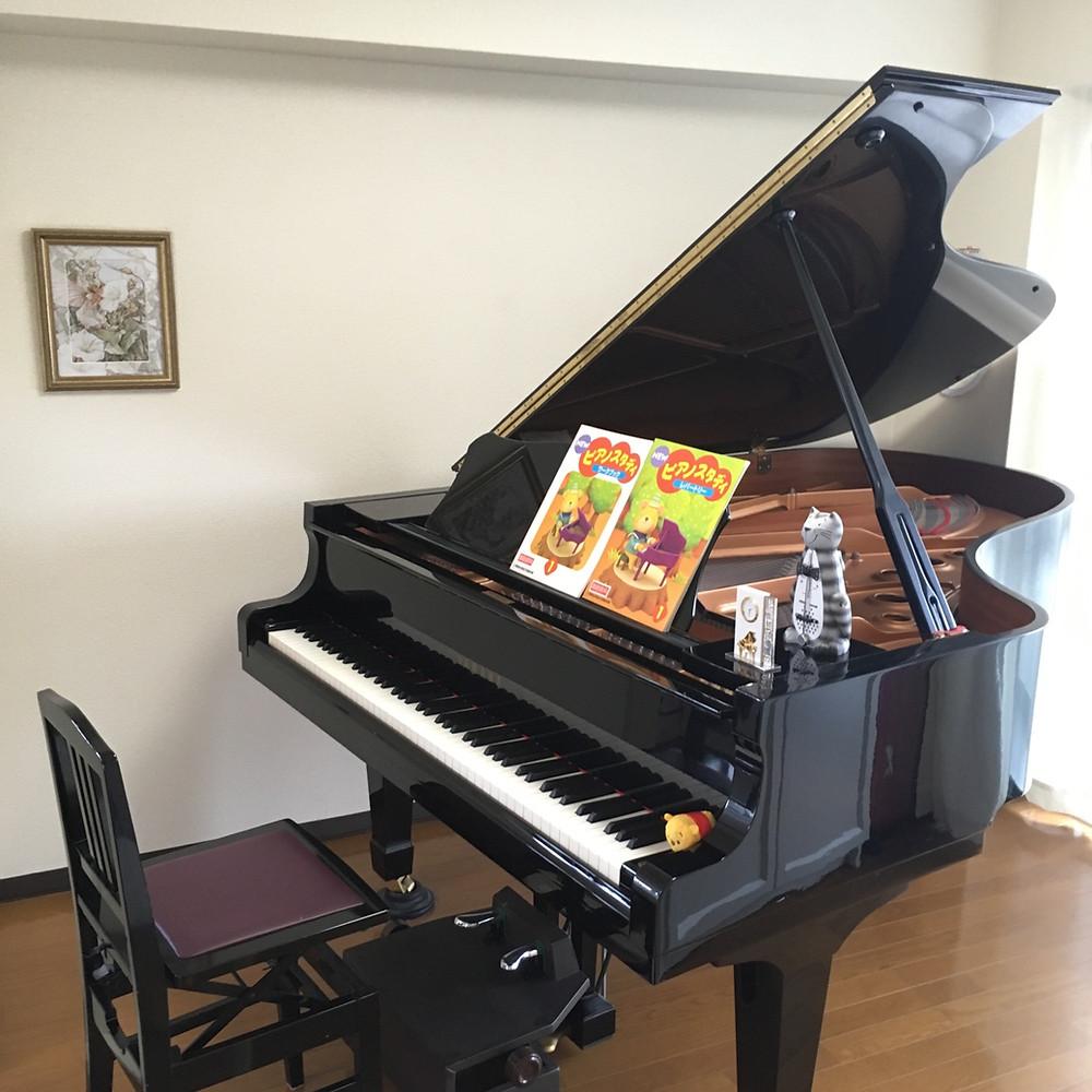 素敵なピアノレッスン室