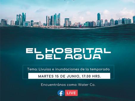 """¡No te pierdas el estreno de nuestro primer Facebook live """"El hospital del agua"""" con el @Dr del Agua"""