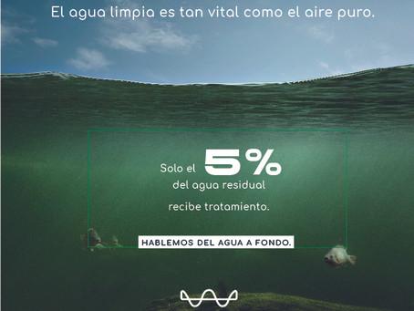 El agua limpia es tan vital como el aire puro