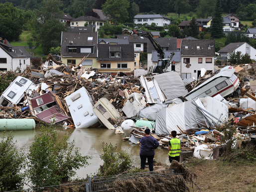 De primer mundo a aldea guatemalteca: Flash flood