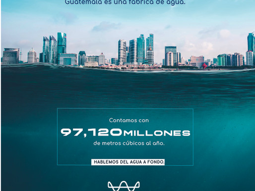 Guatemala es una fábrica de agua