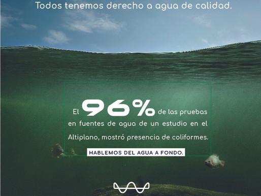 Todos tenemos derecho a agua de calidad